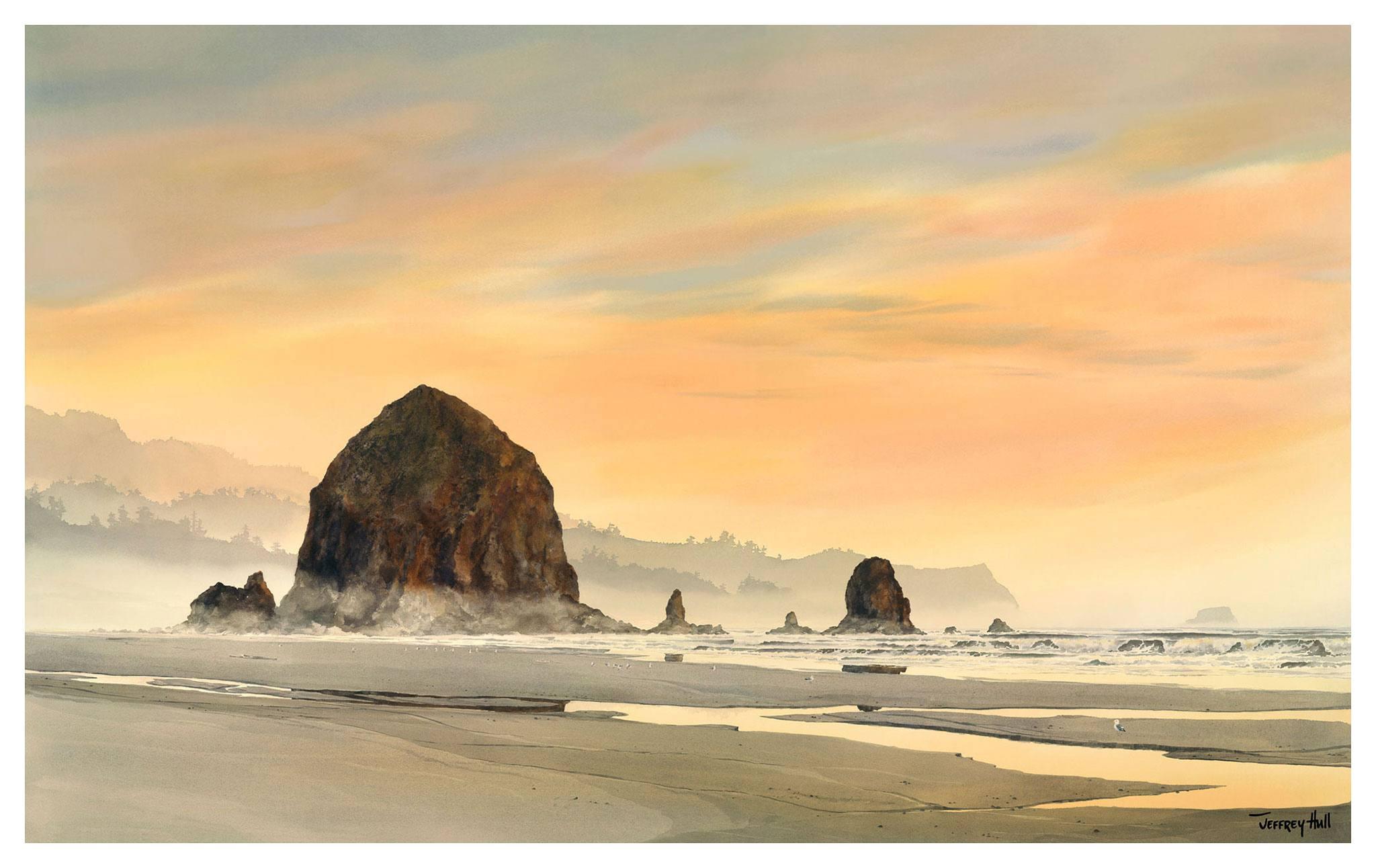 Haystack-Rock-Sunset-LimEd-Unframed-4-Website-2021
