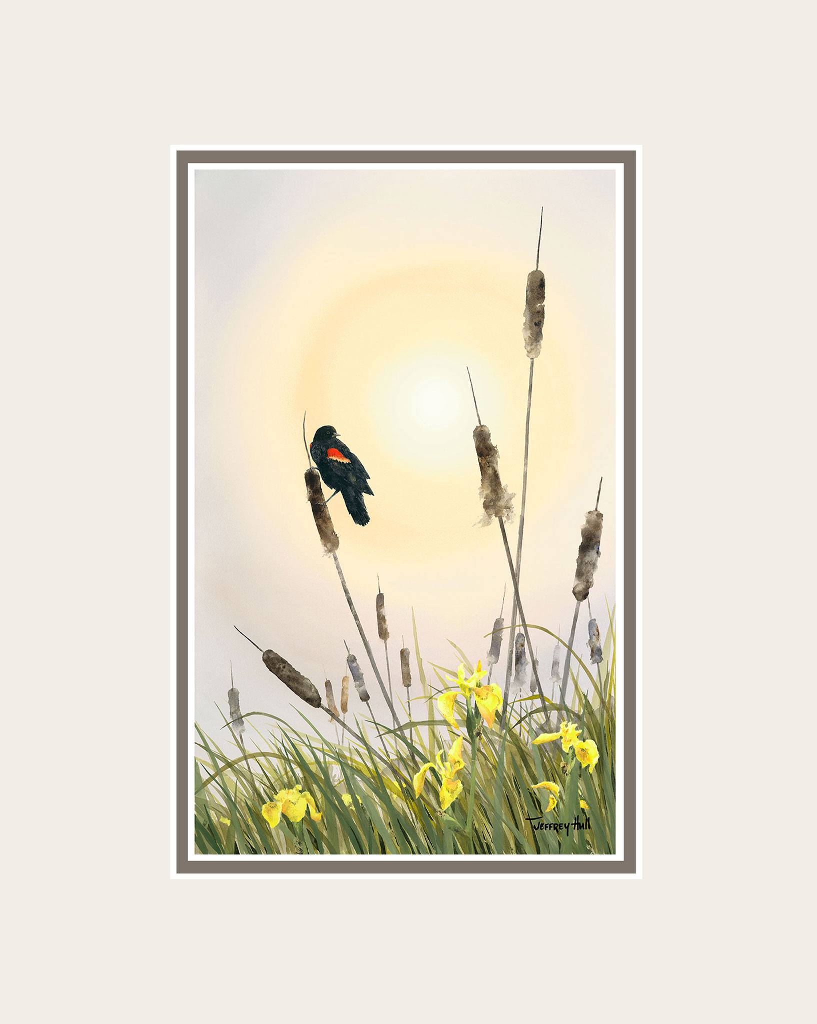 Red-Wing-_-Cattails-Mini-Unframed-Talc-Balmoral-4-Website-2021
