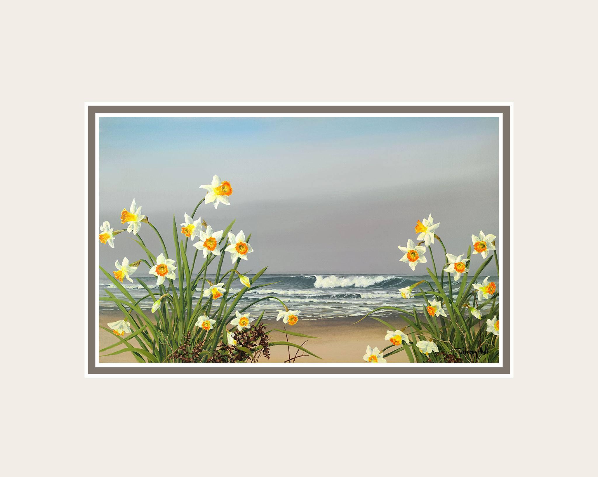 Shoreline-Daffodils-Mini-Unframed-Talc-Balmoral-4-Website-2021