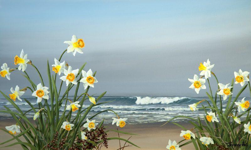 Shoreline Daffodils