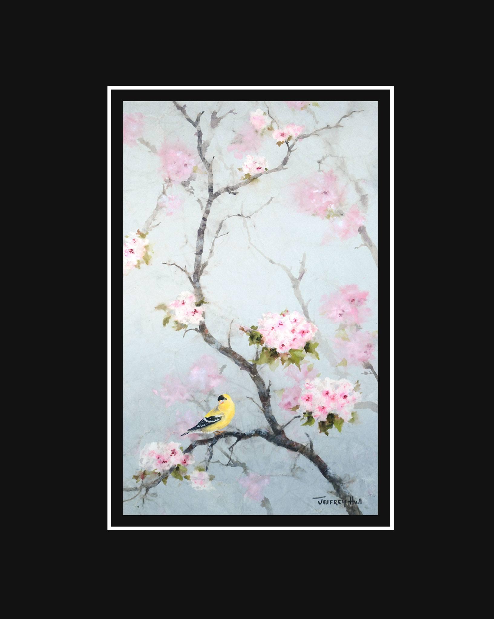 Goldfinch-_-Cherry-Blossoms-Mini-Unframed-Jet-Black-4-Website-2021